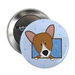 Cartoon Pembroke Welsh Corgi 2.25