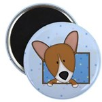 Cartoon Pembroke Welsh Corgi Magnet