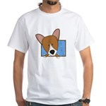 Cartoon Pembroke Welsh Corgi TShirt