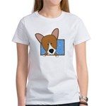 Cartoon Pembroke Welsh Corgi Women's T Shirt