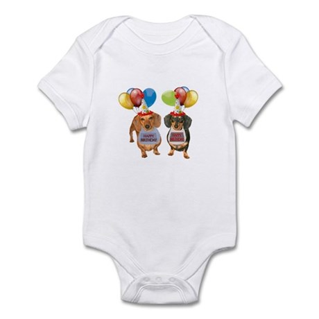 Doxie Birthday Infant Bodysuit