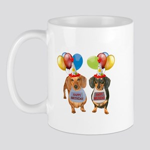 Doxie Birthday Mug