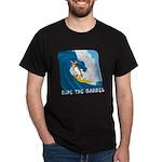 Surfing Pembroke Welsh Corgi Dark T-Shirt