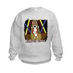 Pembroke Welsh Corgis Rock Kids Sweatshirt