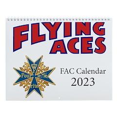 Flying Aces Club Calendar Wall Calendar
