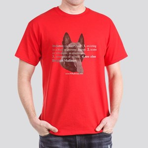 Intense--Belgian Malinois Dark T-Shirt