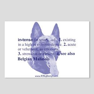 Intense--Belgian Malinois Postcards (Package of 8)