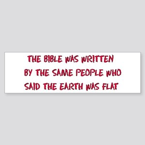Flat Earth Historians Bumper Sticker