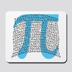Celebrate PI DAY March 14 Mousepad