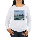 Chicago Skyline Women's Long Sleeve T-Shirt