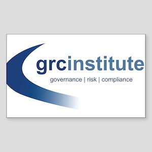 GRC Institute Rectangle Sticker