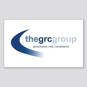 The GRC Group Rectangle Sticker