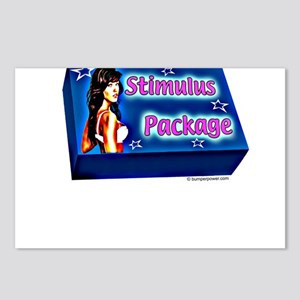 STIMULUS PACKAGE Postcards (Package of 8)