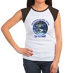 Can you swim? Women's Cap Sleeve T-Shirt