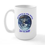 Can you swim? Large Mug