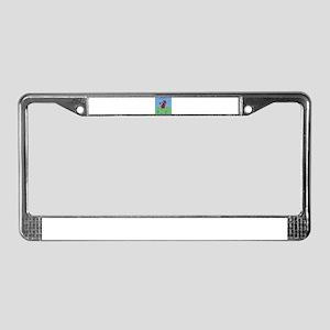 Weightlifter License Plate Frame