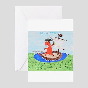 Sailer Greeting Card