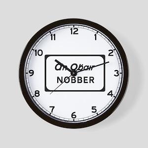 Nobber, Ireland Wall Clock