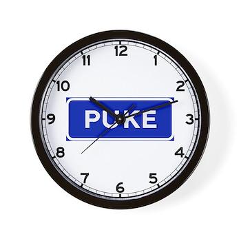 Puke, Albania Wall Clock