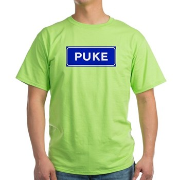 Puke, Albania Light T-Shirt