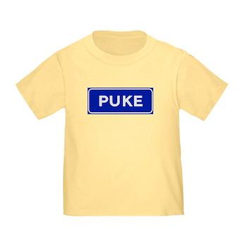 Puke, Albania Toddler T-Shirt