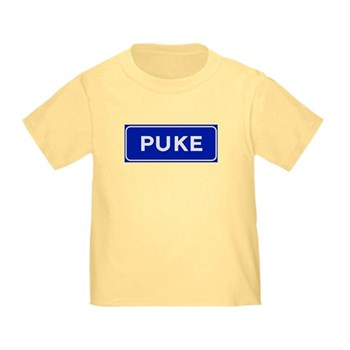 Puke, Albania Toddler T-Shirt