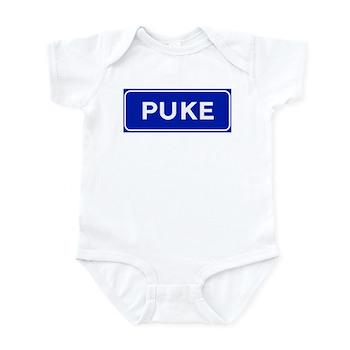 Puke, Albania Infant Bodysuit