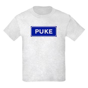 Puke, Albania Kids Light T-Shirt