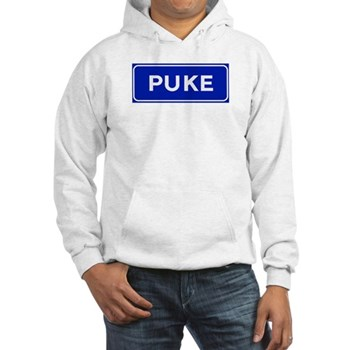 Puke, Albania Hooded Sweatshirt