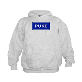 Puke, Albania Kids Hoodie