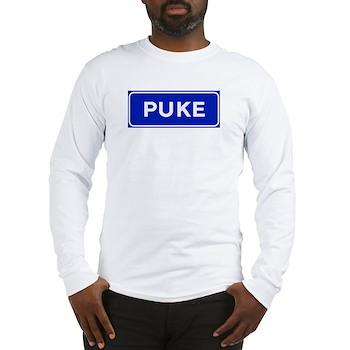 Puke, Albania Long Sleeve T-Shirt