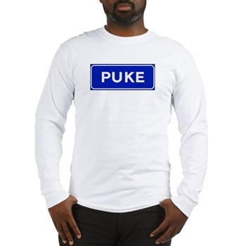 Puke, Albania Long Sleeve T-Shirt