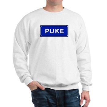 Puke, Albania Sweatshirt