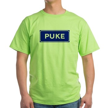 Puke, Albania Green T-Shirt