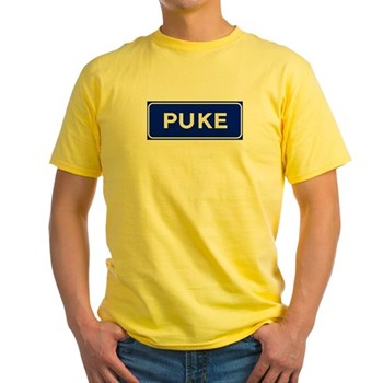 Puke, Albania Yellow T-Shirt