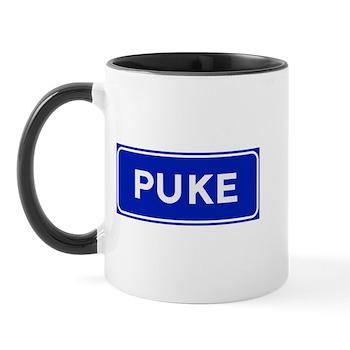 Puke, Albania Mug