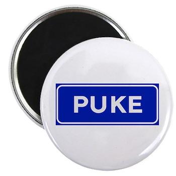 Puke, Albania Magnet