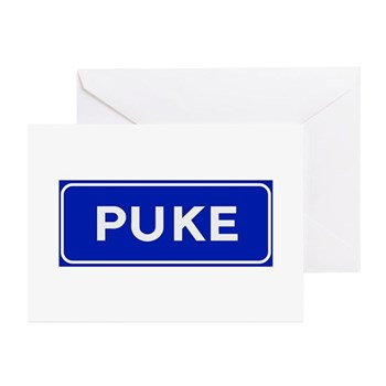 Puke, Albania Greeting Cards (Pk of 10)