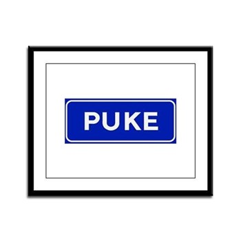 Puke, Albania Framed Panel Print