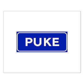 Puke, Albania Small Poster