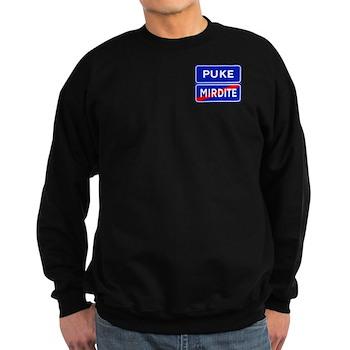 Puke, Albania Sweatshirt (dark)