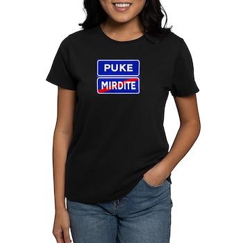 Puke, Albania Women's Dark T-Shirt