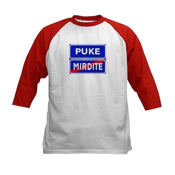 Puke, Albania Kids Baseball Jersey