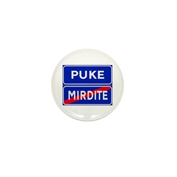Puke, Albania Mini Button