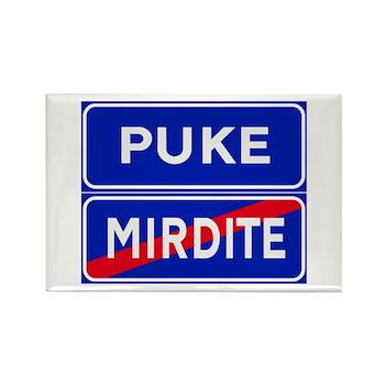Puke, Albania Rectangle Magnet (100 pack)