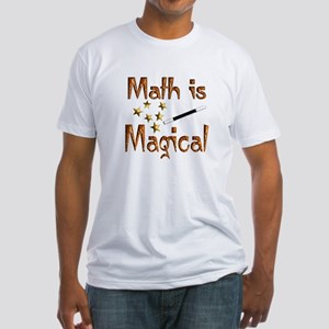 Math Fitted T-Shirt