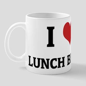 I Love Lunch Break Mug
