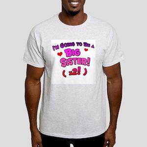 Big Sister / Twins! Light T-Shirt