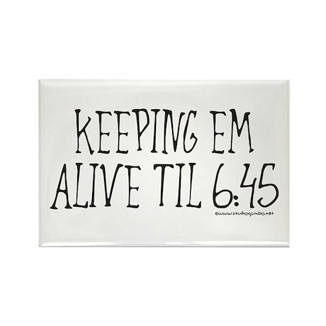 Nurses keep em alive Rectangle Magnet (100 pack)