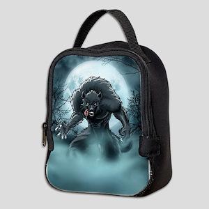 Werewolf's Full Moon Neoprene Lunch Bag